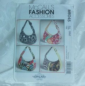 McCall's # M6045 Bags Sewing Pattern